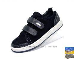 Замшевые туфли для вашего ребенка. Арт. 7010 синий замш