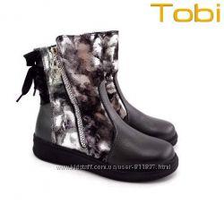 Кожаные зимние сапоги ТМ Tobi. Арт. 203-03