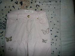 Классные джинсы HM 140 рост
