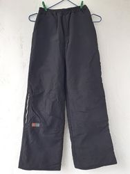 брюки спортивные ветртовка на флисе мальчику 10-11 лет