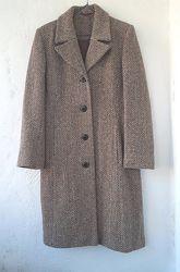 пальто осеннее р. S классика шерсть