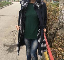 Пальто дубленка с капюшоном b. raise