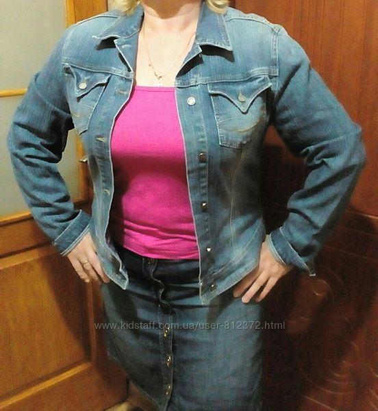 джинсовая курточка размер 48-50