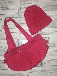 Акция комплект женская шапка, спортивная сумка. Оригинал.