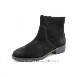 Черные замшевые ботинки Shellys London