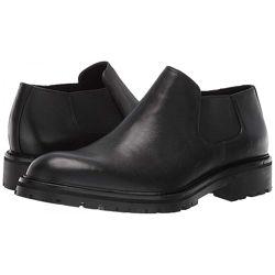 Черные и темно-коричневые оригинальные мужские  туфли Calvin Klein