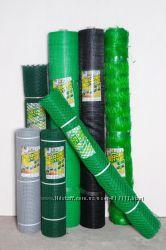 Сетка пластиковая, птичка, универсал-я, вольерная1-50, 1-100ячейки12-14, 30