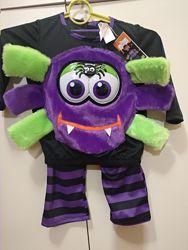 Новогодний костюм паучка, Хеллоуин, 2-3 года.