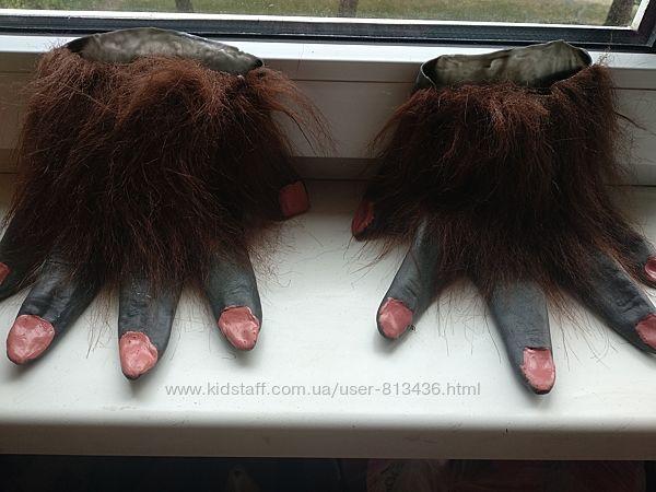Перчатки Монстра Хеллоуин.