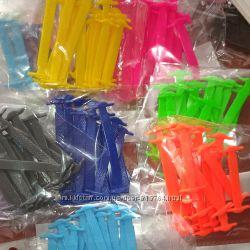 Силиконовые шнурки . Разные цвета.