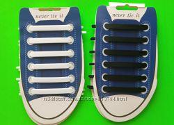 Силиконовые шнурки антишнурки.