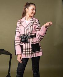 Пальто детские демисезонные кашемировые для юных леди 122-152. В наличии