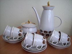 Сервиз кофейный на 6 персон, времен СССР