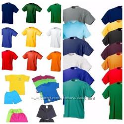Футболка хлопковая, однотонная, трикотажная, все размеры и цвета.