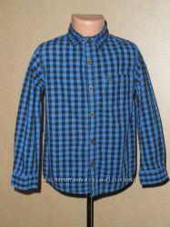 Рубашка Rebel на 6-7 лет в идеальном состоянии, 100 котон
