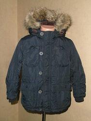 Куртка, парка на меху не промокаемая на 4-5 лет