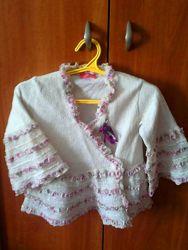 Болеро-Кофточка нарядное для принцессы