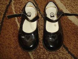 Туфельки BABY CLUB лаковые по стельке 14,5 см
