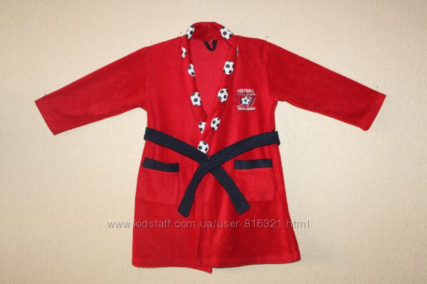 Классный флисовый халат для мальчика