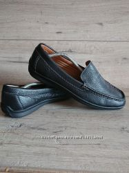 Туфли лоферы M&S 45 р 30 см кожа