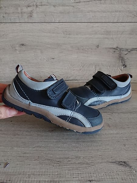 Туфли мокасины Start-rite 25-26р 16,5 см кожа на липучках