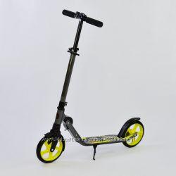 Бест Rocket 00068 двухколесный складной Best Scooter для детей взрослых
