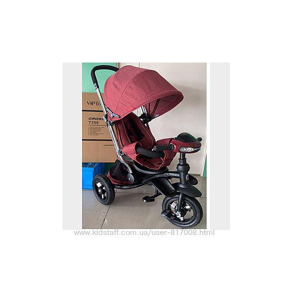 Кроссер т350 Эко New велосипед коляска трехколесный детский новинка 2020г