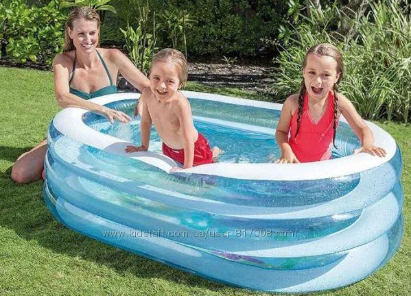 Intex 57482 Китенок детский надувной бассейн Интекс