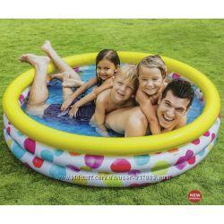 Intex 58449 Геометрия бассейн детский надувной Интекс