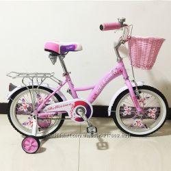 Белисима 16 20 24 велосипед двухколесный с корзинкой для девочки Bellisima