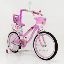 Сигма Жасмин 14 16 18 20 велосипед двухколесный с багажником Jasmine Sigma