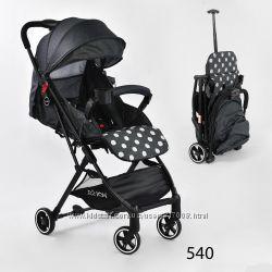 Джой С коляска прогулочная детская легкая с ручкой joy