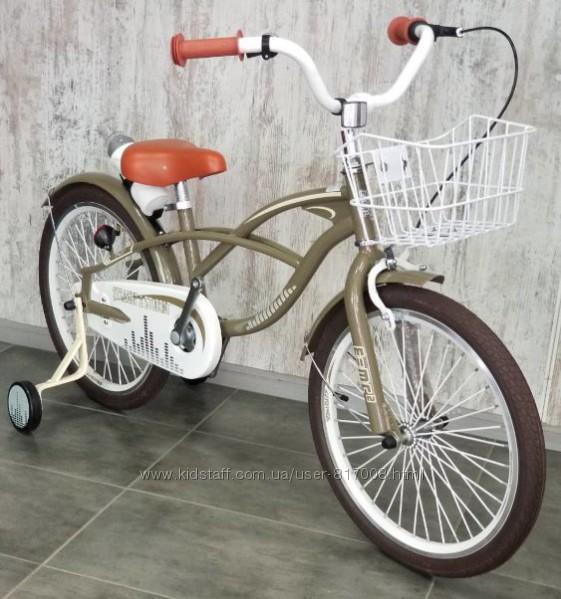 Велосипед Royal Voyage Student 20 дюймов с корзинкой детский