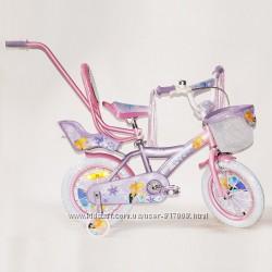 Эльза Фроузен 14 16 дюймов велосипед с сидением для куклы ice frozen