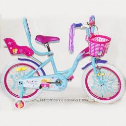 Эльза холодное сердце 12 14 16 18 20 велосипед для девочки двухколесный