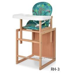Vivast RH стульчик для кормления из дерева трансформер Виваст столик