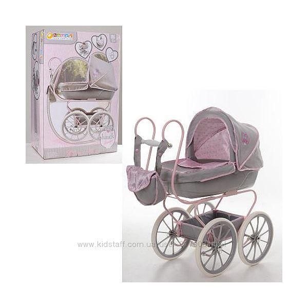 Hauck 87816 кукольная коляска игрушечная ретро люлька