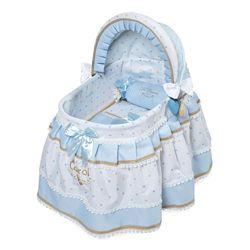 Кроватка колыбель Кэрол 51127 игрушечная для куклы Decuevas