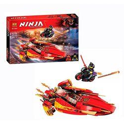 Конструктор 10801 Бела Нинзя катер Bela Ninja