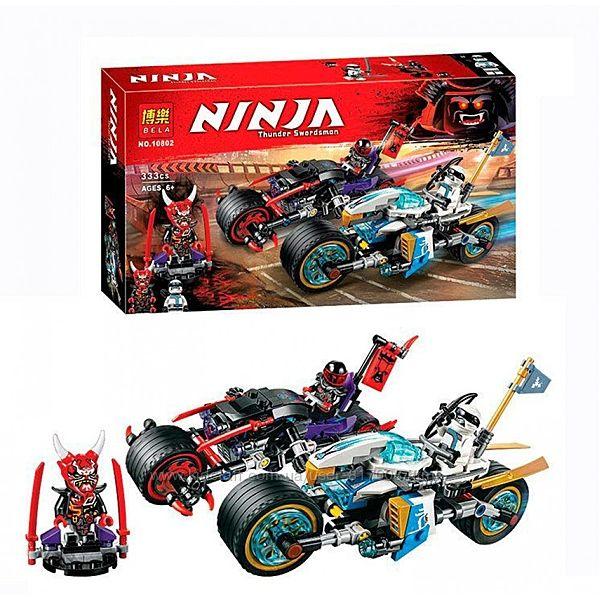 Конструктор Bela Ninja 10802 для мальчиков