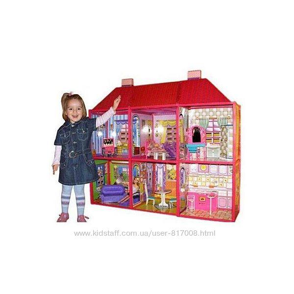 Домик для кукол 6983 My Lovely Villa двухэтажный