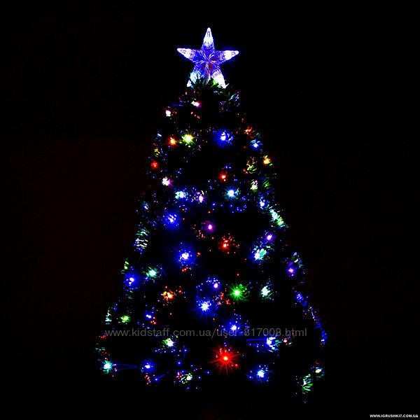 Ёлка 29333 новогодняя с подсветкой Led 90 см