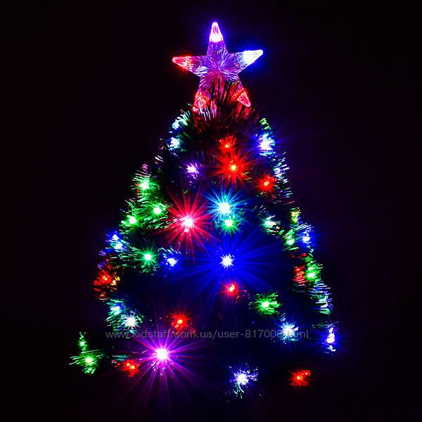 Ёлка новогодняя 0755 с подсветкой Led  65 см