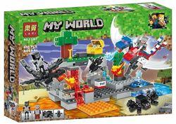 Бела майнкрафт 11267 конструктор bela minecraft my world