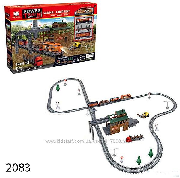 Железная дорога детская игрушка со светом