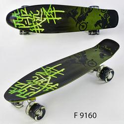Best Board F скейт пенни борд с светящимися колесами