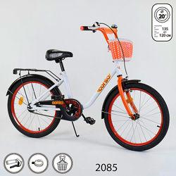 Корсо 20 дюймов велосипед двухколесный детский Corso