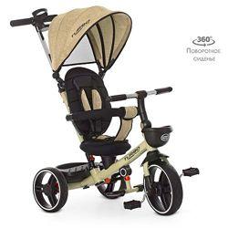 Turbo Trike 5447 велосипед трехколесный детский колясочный Турбо