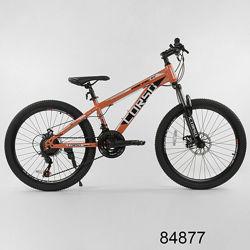 Corso Strong Steel 24 дюйма велосипед спортивный горный Корсо