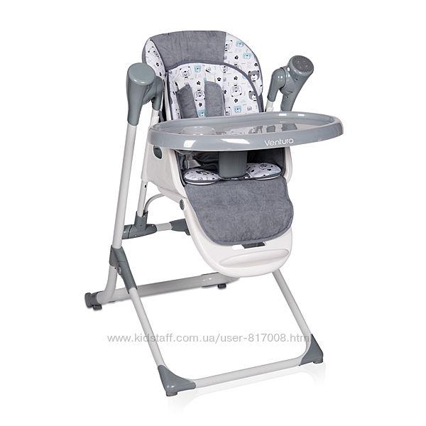 Качели стульчик для кормления lorelli Ventura 2 в 1 от рождения с пультом
